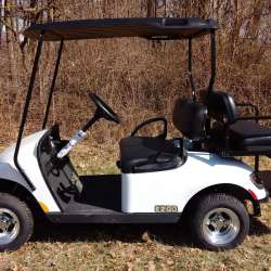 New and Used Golf Carts for Sale | GT Carts | Monticello, In  Ezgo Rxv Golf Cart White on lincoln on a rail cart, 2013 ezgo txt, 2013 ezgo electric golf cart,