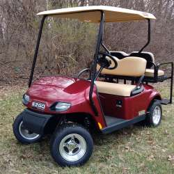 New and Used Golf Carts for Sale | GT Carts | Monticello, In Red Lifted Golf Cart Freedom Se on